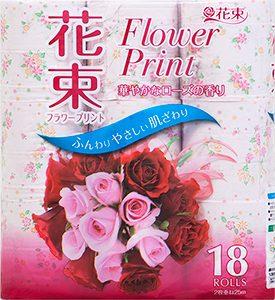 花束 フラワープリント 18R ダブル