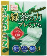 ペンギン 緑茶の力 プレミアム 4R トリプル