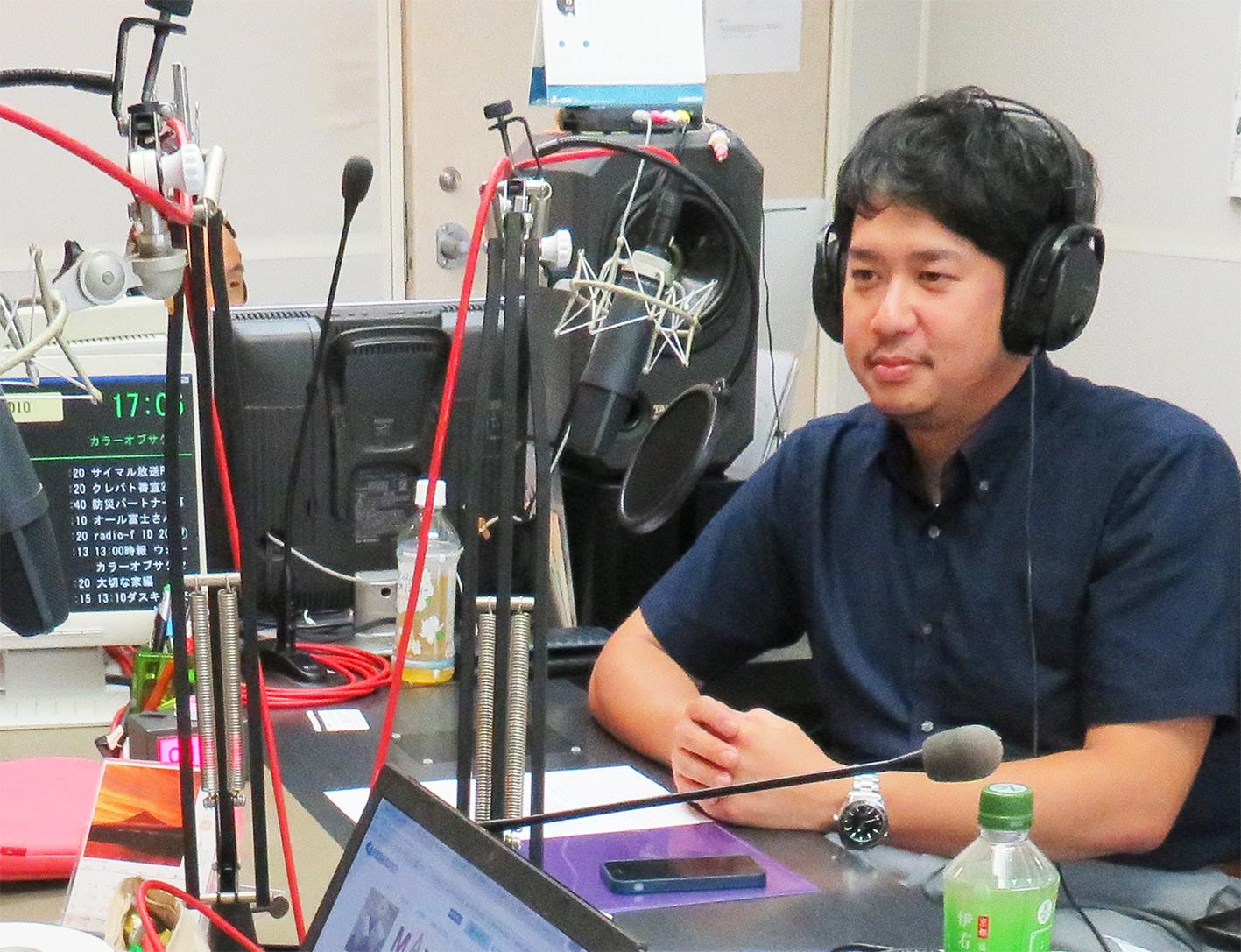ラジオエフ出演