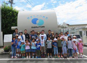 【夏休み親子工場見学会2017】が行われました!