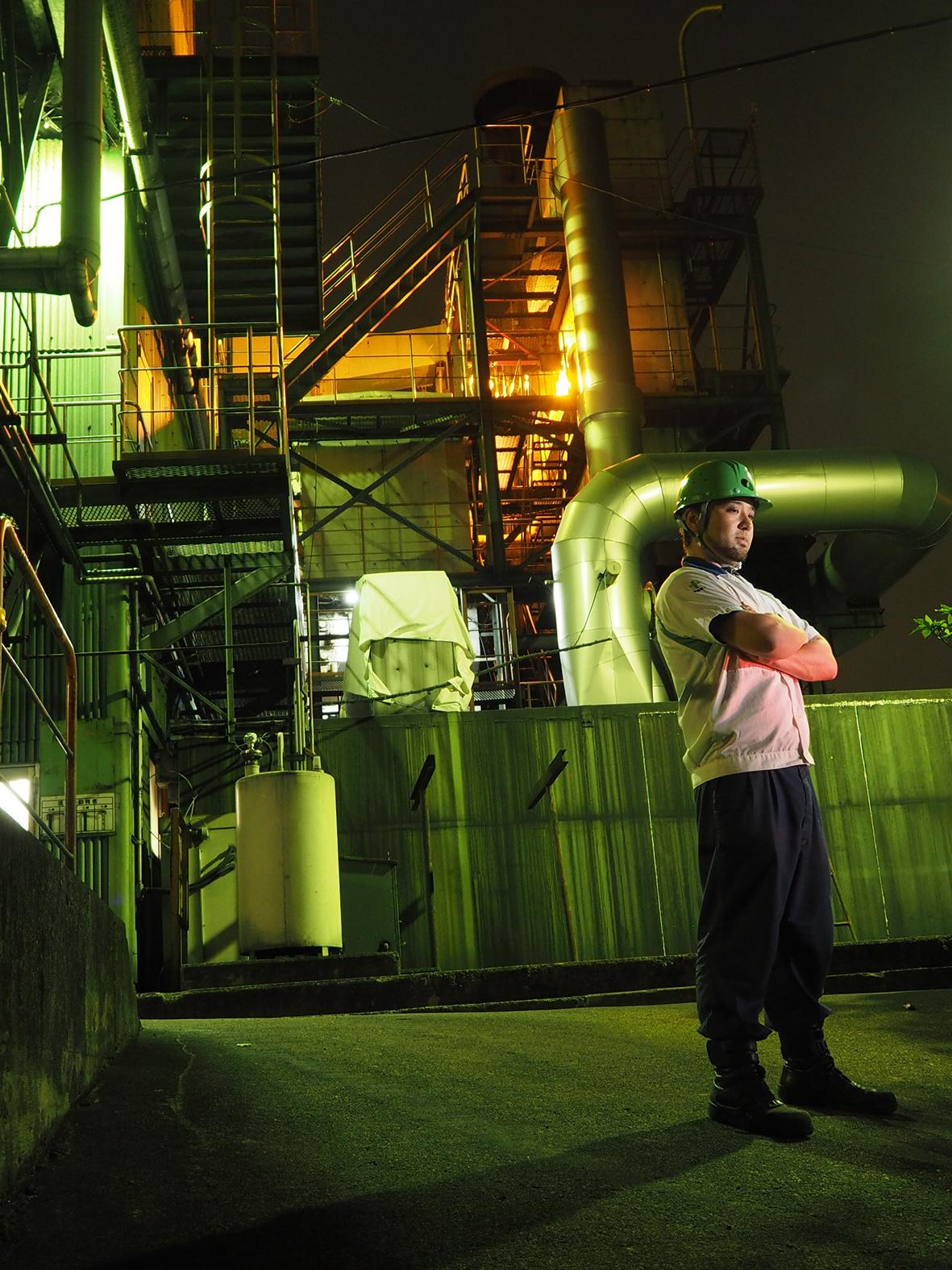 富士根工場工場夜景男子