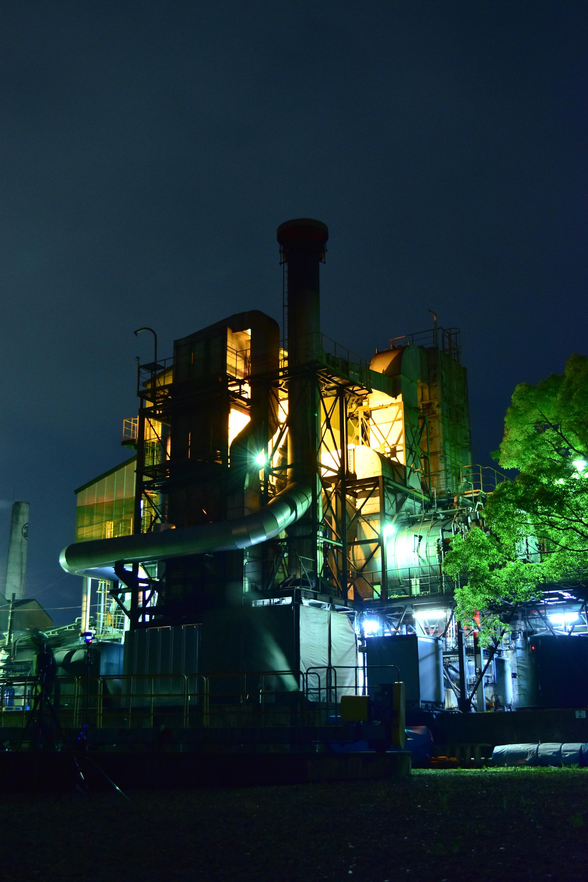 富士根工場工場夜景