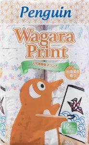 ペンギン Wagaraプリント 12R ダブル