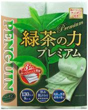 ペンギン 緑茶の力 プレミアム 8R トリプル