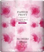 花束 フラワープリント ローズ 18R ダブル